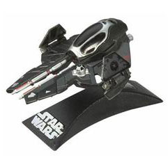 Titanium Die-Cast: Darth Vader Sith Starfighter