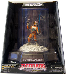 Titanium Die-Cast: Luke Skywalker X-Wing Pilot