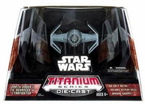 Titanium Ultra - Darth Vader Tie Fighter