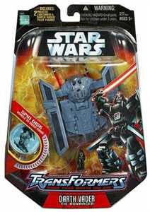 Darth Vader Tie Advanced Transformer
