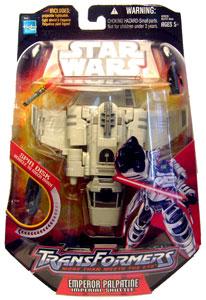 Emperor Palpatine Imperial Shuttle Transformer