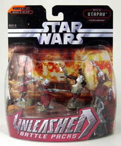 Star Wars Unleashed Battle Pack: Utapauian Warriors