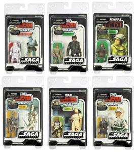 Star Wars Vintage 2007 Collection Set of 6