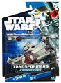 SW Transformers Crossovers Black and Blue - Captain Rex to AT-TE