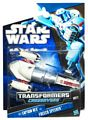 SW Transformers Crossovers Black and Blue - Captain Rex to Freeco Bike