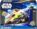 Clone Wars 2011 Black and Blue Box - Kit Fisto Jedi Starfighter