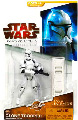 Clone Wars 2009 Red Packaging - Saga Legends - EP II AOTC Clone Trooper