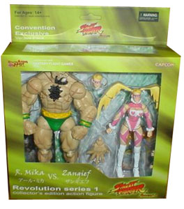 Street Fighter Revolution - Zangief and R.Mika 2-Pack