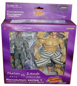Street Fighter Revolution - Dhalsim and E.Honda 2-Pack