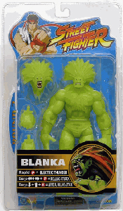 Street Fighter Blanka - Glow-In-The-Dark Exclusive