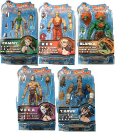Street Fighter Series 2 Set of 5