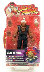 Street Fighter - Akuma - White Hair Black Robe