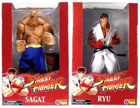 Street Fighter - 10-Inch Ryu and Sagat