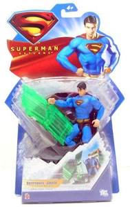 Kryptonite Smash Superman - Superman Returns