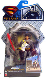 Silver Back Bulletproof Superman - Superman Returns