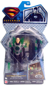 Silver Back Kryptonite Power Lex Luthor - Superman Returns