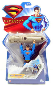 Wall Busting Superman - Superman Returns