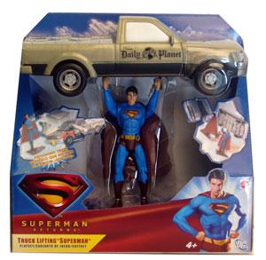 Superman Returns: Truck Lifting Superman