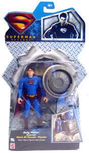 Silver Back Daily Planet Superman - Superman Returns
