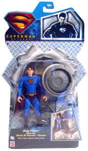 Silver Back Daily Planet Superman - Superman Returns