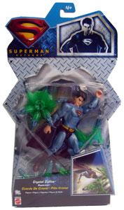 Silver Back Crystal Zipline Superman - Superman Returns