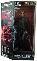 12 Inch Terminator with Sound Deluxe Boxed Figure