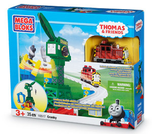 MEGA BLOKS - Thomas and Friends - Cranky 10517