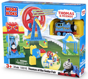 MEGA BLOKS - Thomas and Friends - Thomas at the Sodor Fair 10516