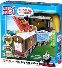 MEGA BLOKS - Thomas and Friends - Toby Hard at Work 10512