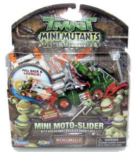 TMNT Mini Mutants - Mini Moto-Slider Michelangelo