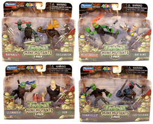 TMNT Mini Mutants - 2-Pack set of 4