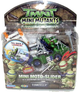 TMNT Mini Mutants - Mini Moto-Slider Donatello