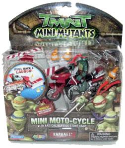 TMNT Mini Mutants - Mini Moto-Slider Raphael