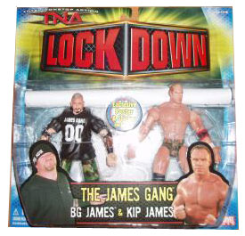 TNA - The James Gang: BG James and Kip James