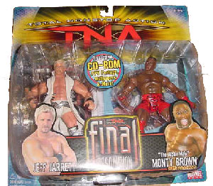 TNA - Jeff Jarrett and Monty Brown