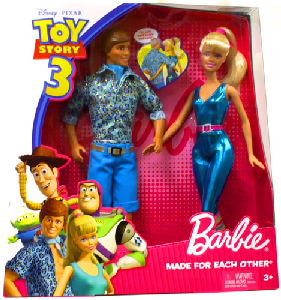 Toy Story 3 - Barbie Made For Each Other 2-Pack: Barbie and Ken