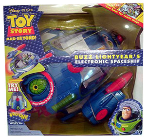 Buzz Lightyears Intergalactic Spaceship