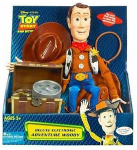 Deluxe Electronic Adventure Woody