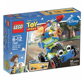Toy Story LEGO - Woody and Buzz Rescue - 7590