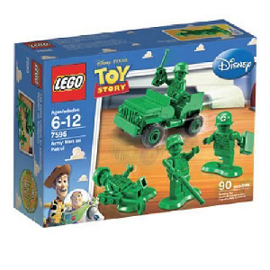 Toy Story LEGO - Army Men on Patrol - 7595