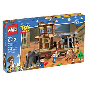 Toy Story LEGO - Woody Roundup - 7594