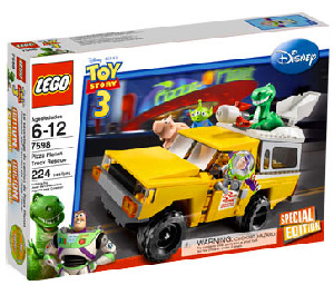 Toy Story 3 LEGO - Exclusive Special Edition - Pizza Planet Truck [7598]