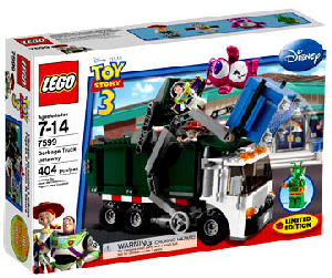 Toy Story 3 LEGO - Exclusive Special Edition - Garbage Truck Getaway[7599]