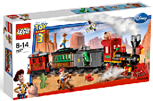 Toy Story 3 LEGO - Western Train Chase[7597]