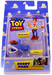 Buddy Pack - Toy Box Woody and Shark