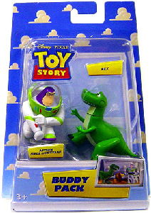 Buddy Pack - Action Buzz Lightyear and Rex