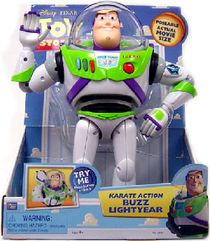 12-Inch Karate Action Buzz Lightyear