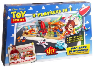 Toy Story Pop-Open Playworld