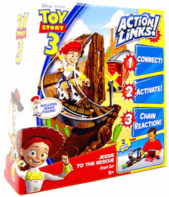 Toy Story 3 - Action Links Stunt Set Jessie to the Rescue