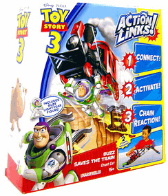 Toy Story 3 - Action Links Stunt Set Buzz Saves the Train